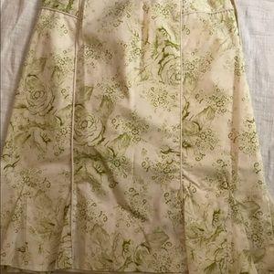 Etcetera floral skirt